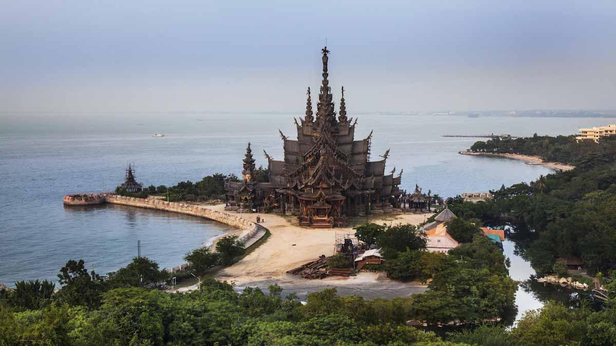 4 dagen langs de golf van Thailand